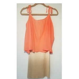 NWT Young Fabulous & Broke Pink Ombre Cami Dress